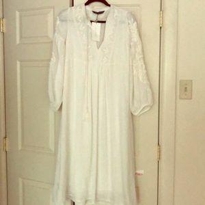 Zara Boho Dress NWT